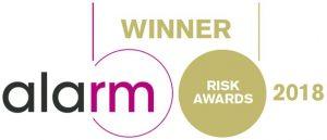 Alarm Risk Awards Winner 2018