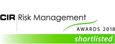 CIR Risk Management Awards 2018 Logo